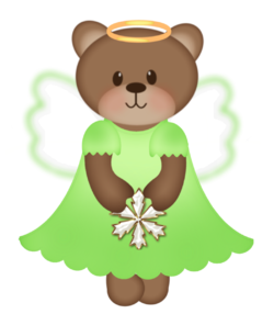 bear angel Green #4 -danita21.png